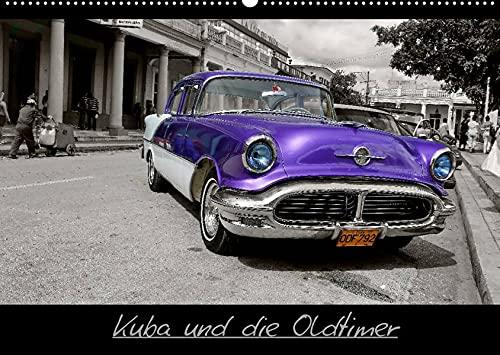 Kuba und die Oldtimer (Wandkalender 2022 DIN A2 quer): Wunderschöne Bilder und Bildkompositionen von Oldtimern in Kuba. (Monatskalender, 14 Seiten ) (CALVENDO Mobilitaet)