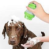 Cartshopper Silicone Pet Bath Brush Massage Brush Gentle Dog Cat Washer Supple Soap