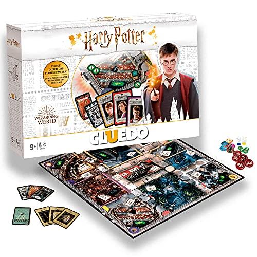 SKYLINE, Cluedo Harry Potter, Juego de Mesa, Juego de Misterio, Multicolor, Talla Única (Versión Inglés)