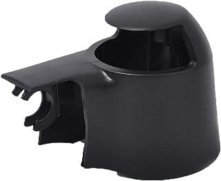 FloralLive 1 Pair Black Plastic Repalement for Citroen Peugeot Car Front Windsheild Wiper Nozzle Washer Jet 6438V8