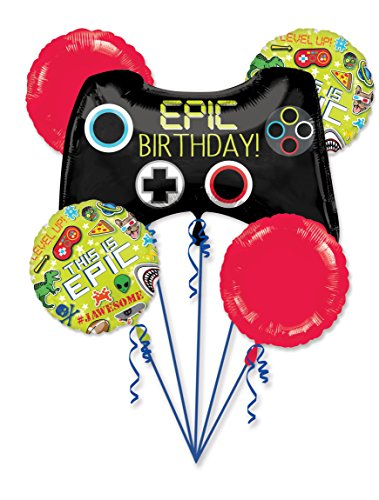 Gamer's Epic Party This Is Epic Bouquet Of Balloons