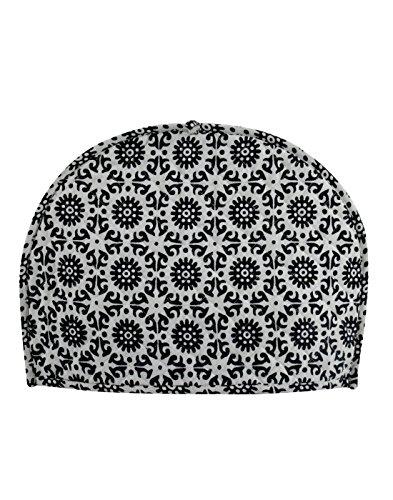 Janki Creation - Copri-teiera in cotone indiano stampato, motivo astratto, tradizionale, lavabile, stile vintage