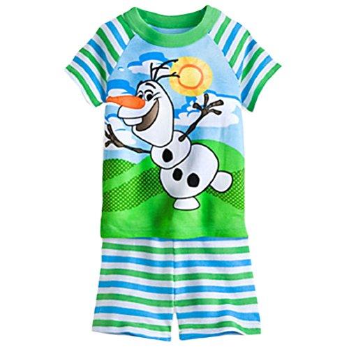 Frozen Olaf Little Boys Pyjama Set (4)