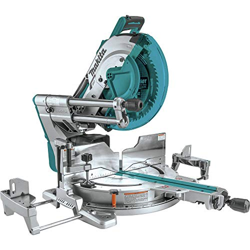 "Makita XSL08Z 18V x2 LXT Lithium-Ion (36V) Brushless Cordless 12"" Dual-Bevel Sliding Compound Miter Saw, AWS Capable & Laser, Tool Only"