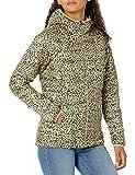 Amazon Essentials Lightweight Water-Resistant Packable Hooded Puffer Jacket Chaqueta aislada, Animal, XXL
