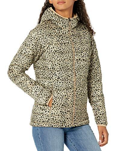 Amazon Essentials Chamarra Ligera con Capucha y Resistente al Agua. Down-Alternative-Outerwear-Coats, Animal, 46-48
