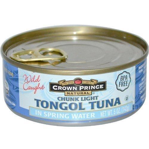 Crown Prince Tuna Tongol Sprng Wtr