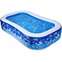 Joyjoz Inflatable Pool 93 X 54 X 24 Inch Swimming Pool