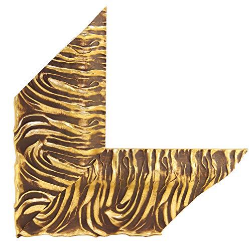OLIMP-09 Bilderrahmen 33x95 cm Echtholz Barock in Farbe Antik Gold