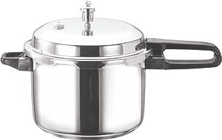 Vinod V-2L Stainless Steel Sandwich Bottom Pressure Cooker, 2-Liter