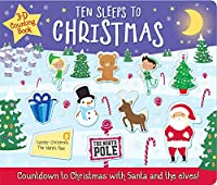 Ten Sleeps to Christmas (3D Counting Books)