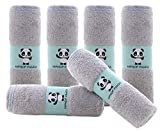 Product Image of the Hypoallergenic Bamboo Baby Wash Clothes - 2 Layer Ultra Soft Absorbent Bamboo...