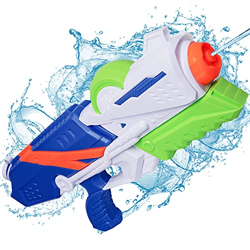MOZOOSON Kids Toy for Summer, Water Gun with 1.2L Soaker Capacity for Boys...