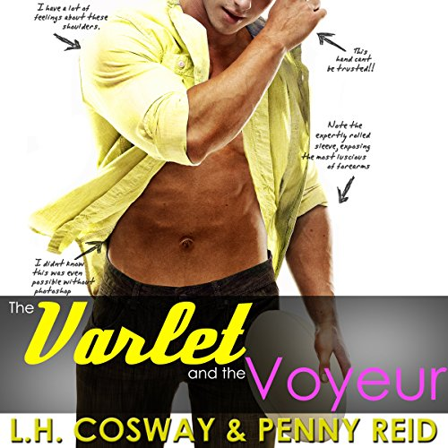 The Varlet and the Voyeur audiobook cover art