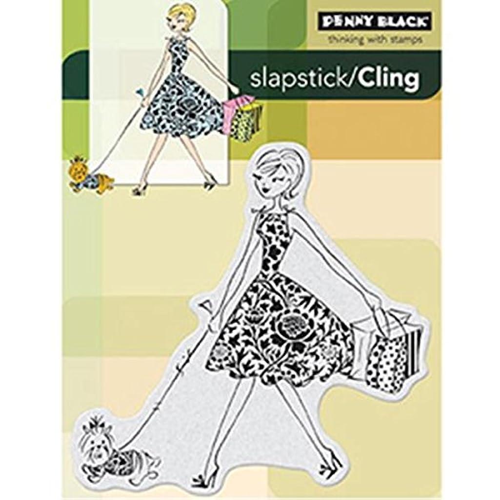 Penny Black Fashion Leader Slapstick/Cling Stamp