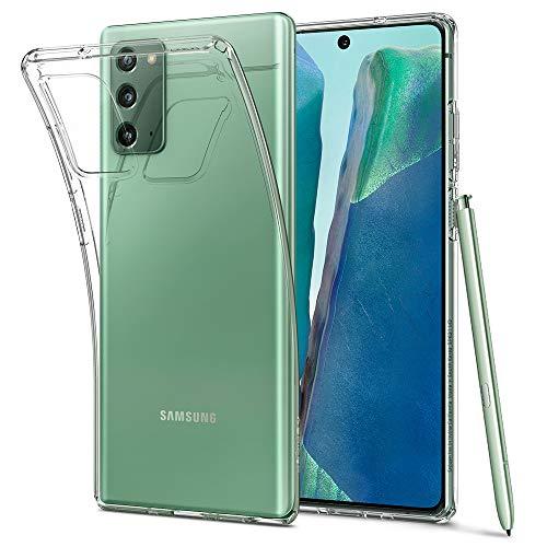 Spigen Liquid Crystal Hülle Kompatibel mit Samsung Galaxy Note 20 -Crystal Clear