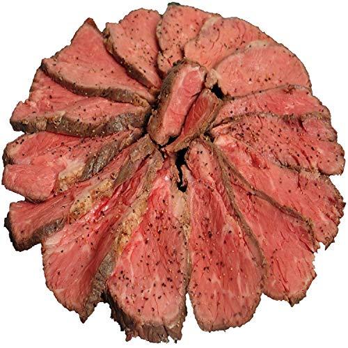bonbori (ぼんぼり) 熟成牛 プレミアムローストビーフ 600g 超 (200g超×3) 希少部位 サブトン ( はねした ) 無添加 ソース レホール付き ギフト