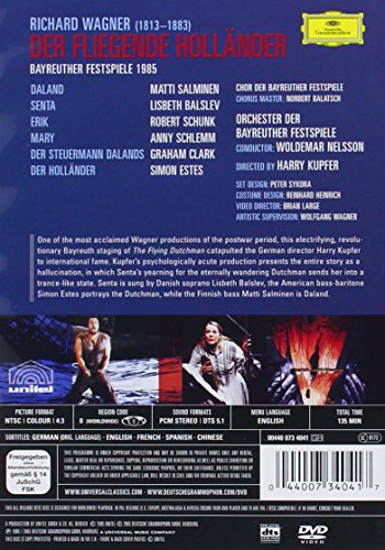 Der Fliegende Holländer - (The Flying Dutchman) Wagner [DVD] [1985] [NTSC] [2005]