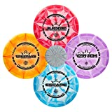 Dynamic Discs Four Disc Prime Burst Disc Golf Starter Set |...