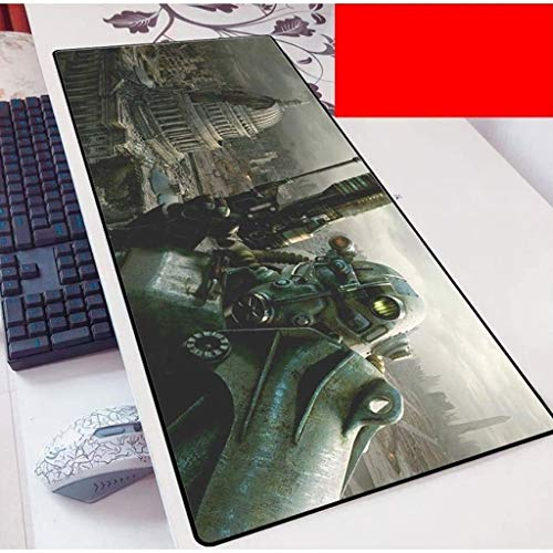 Fallout Gaming Mouse Pad Large Mouse Mat Keyboard Mat Extended Mousepad for Computer Desktop PC Laptop Mouse Pad (Color : E, Size : 700x300x3mm)