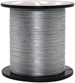 ALIFREE 4 Strand Braided Fishing Line 6lb-100lb Superline Abrasion Resistant Braided Lines Super Strong High Performance PE Fishing Lines