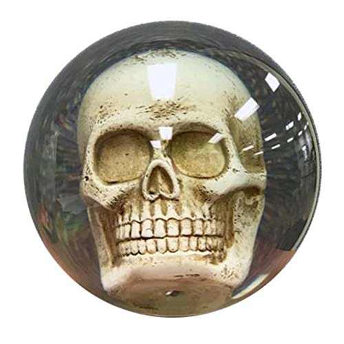 Clear-Skull Bowling Ball by Bowlerstore
