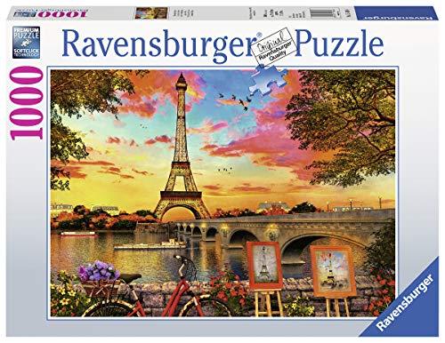 Ravensburger Puzzle 15168 - Le quais de Seine - 1000 Teile Puzzle für Erwachsene und Kinder ab 14 Jahren - Puzzle mit Paris-Motiv