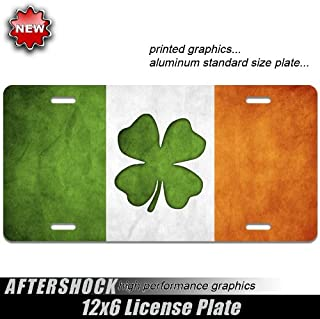 IRISH PRINCESS SHAMROCK clover ireland  License Plate Frame