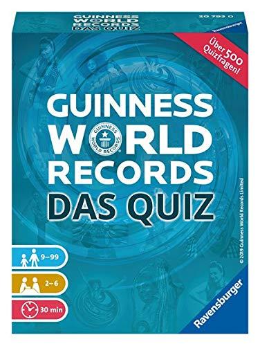 Ravensburger 20793 Lustige Kinderspiele Das Guinness-Spiel der Rekorde