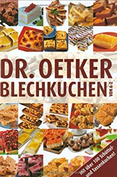 Hardcover Dr. Oetker: Blechkuchen von A-Z [German] Book