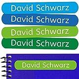 50 Etiquetas Adhesivas Personalizadas para marcar objetos, libros, fiambreras, etc. Medida 6 x 1 cm. Color 5