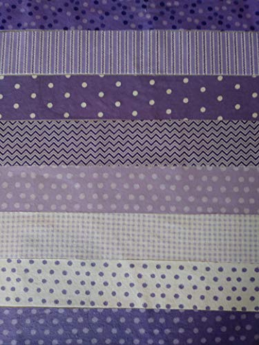 pink and purple quilting fabric - 8