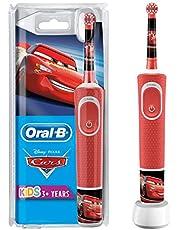 Oral-B Power Elektriska Tandborste för Barn, Röd