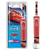 Oral-B Kids Spazzolino Elettrico Ricaricabile, 1 Manico, con Personaggi Disney Pixar Cars, per Età da 3 Anni