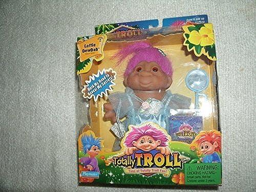 sorteos de estadio Totally Troll Lottie Dewdah Doll Doll Doll Figure with Passport and Mirror. by Playmates  Descuento del 70% barato