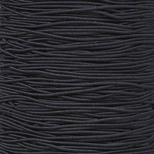 """1/16"""" Elastic Cord Beading Crafting Stretch String – Choose from 10, 25, 50, 100, and 1300 Feet, Made in USA"""