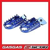 Estriberas Reposapies GAS-GAS EC 250 300 SCAR - Azul