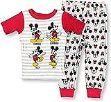 Mickey Mouse Pajamas 2-Piece Snug-Fit Mickey Moods PJ...
