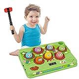 Klopf Giocattolo a martello, per bambini, gioco da pesca, gioco interattivo, gioco per bambini, giochi di sviluppo musicale per bambini, giocattolo educativo regalo per ragazzi e ragazze