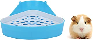 HongYH Pet Small Rat Toilet, Square Potty Trainer Corner Litter Bedding Box Pet Pan for Small Animal/Rabbit/Guinea Pig/gal...