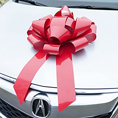 Magnetic Car Bow - HUGE Gift Wrap for your Automobile or Large Present