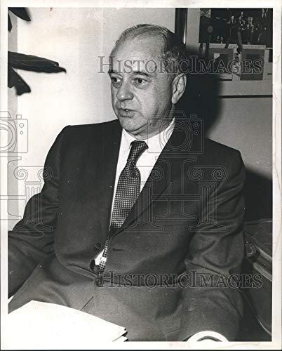 Historic Images 1970 Press Photo Arch Booth, Ejecutivo de la Cámara de Comercio de los Estados Unidos