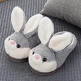 Memory Foam Zapatillas De Casa para Mujer,Pantuflas De Conejo...