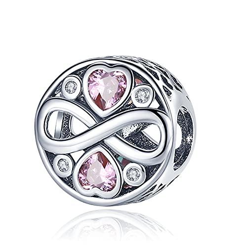 LIIHVYI Se Adapta A Pandora Original 925 Cuentas De Plata Esterlina Shining Night Sky Mm & Bangle Making Fashion DIY Jewelry para Mujeres Pulsera Charm Gift