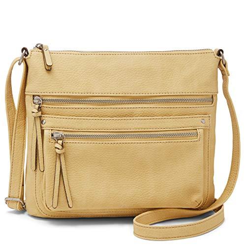 Relic by Fossil Women's Riley NS Crossbody Handbag, Color: Daffodil Model: (RLH9807730)