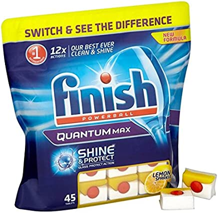 Finish Quantum Tablets Lemon 45 per Pack