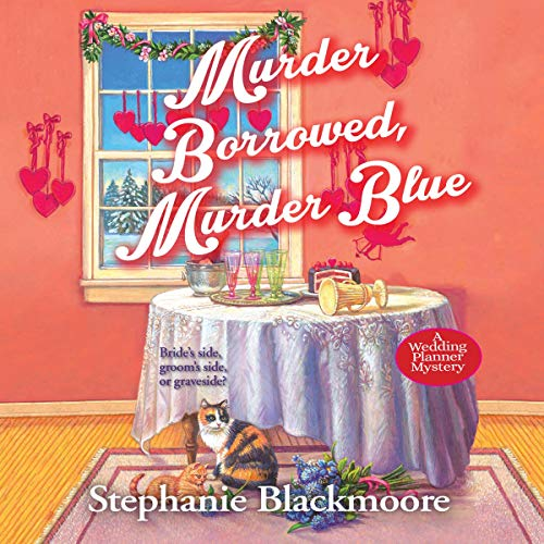 Murder Borrowed, Murder Blue audiobook cover art