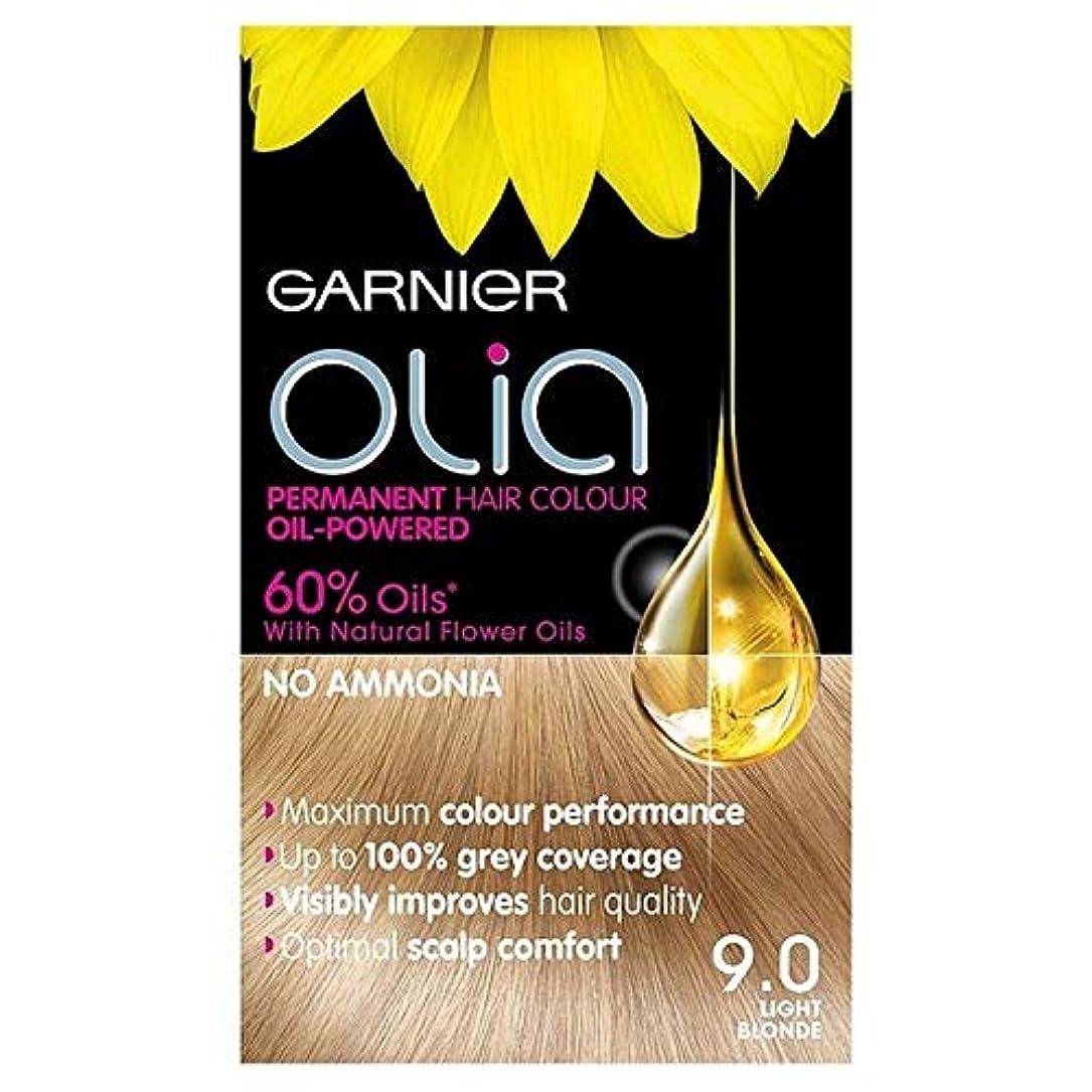 甘くするミシン酸化物[Garnier ] 9.0光ブロンドの永久染毛剤Oliaガルニエ - Garnier Olia 9.0 Light Blonde Permanent Hair Dye [並行輸入品]