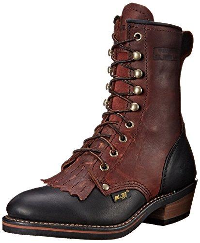 """Adtec Women's 8"""" Packer Dark W Boot, Cherry/Black 3"""