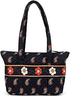 American Made, Quilted Fabric Zip Tote by Stephanie Dawn